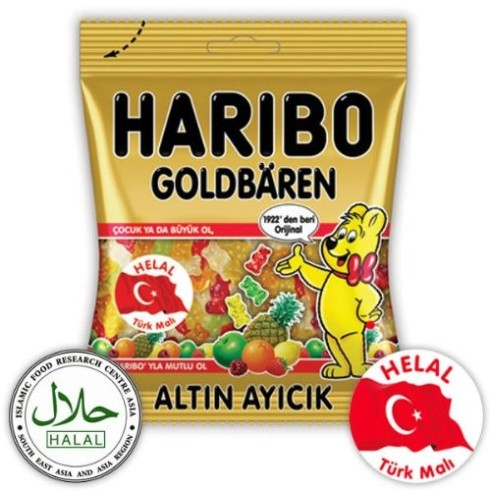 Oursons Haribo HALAL
