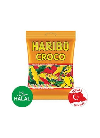 Crocodiles Haribo HALAL 100g