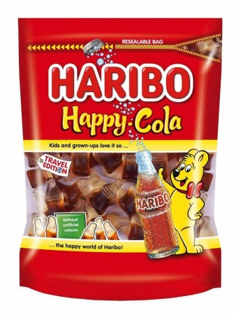 Happy Cola Haribo Halal 500g