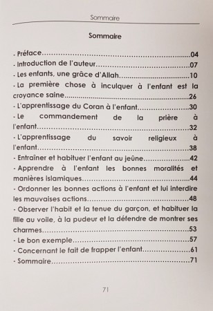 L'Education des Enfants (Français - Arabe) - Sheikh Nadjib