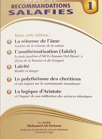Recommandations Salafies 1 - Sheikh Ferkous