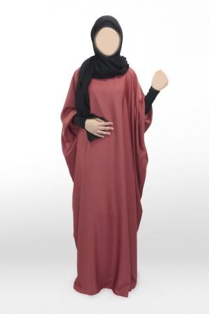 Abaya Khaleej Nida TERRE ROUGE