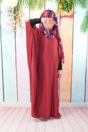 Abaya Khaleej Girl MAUVE