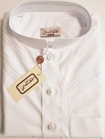 Qamis Al Hattami Style Emirati Manches Courtes