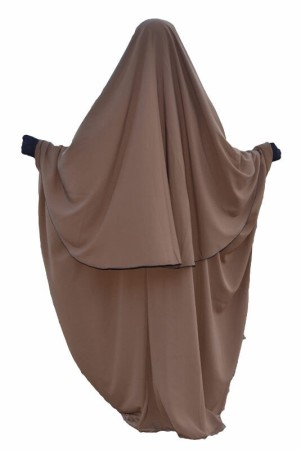 "'Abaya ""Umm Hafsa"" CANNELLE"