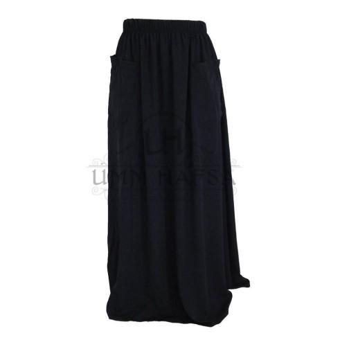 """Jupes à poches """"Umm Hafsa"""" NOIR"""