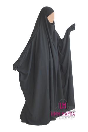 "Jilbab Saoudien classique ""Umm Hafsa"""