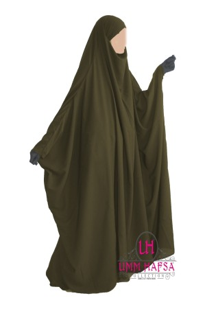 "Jilbab Saoudien ""Umm Hafsa"" KAKI"