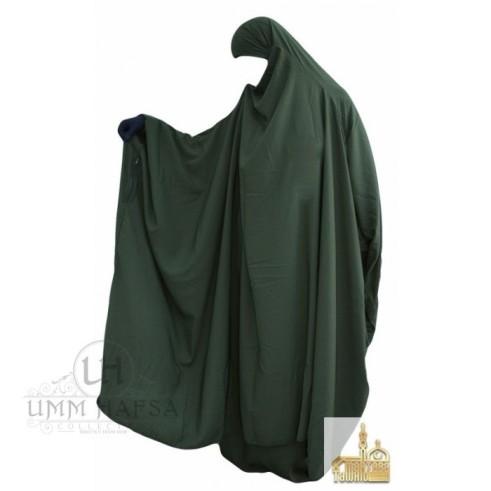 "Jilbab à ZIP ""Umm Hafsa"" KAKI"
