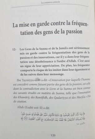 La Croyance Correcte - Sheikh ibn Barjas