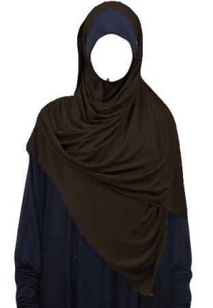 Maxi-Hijab Stretch GRIS ANTHRACITE
