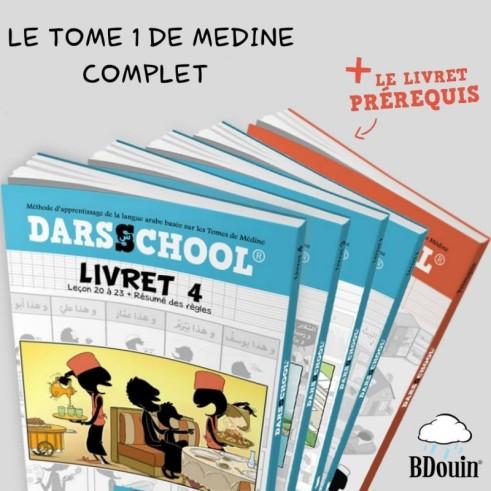 PACK DARSSCHOOL 5 Livrets (Prérequis + livrets de 1,2,3 et 4)