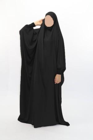 Jilbab Saoudien NIDHA poignets lycra