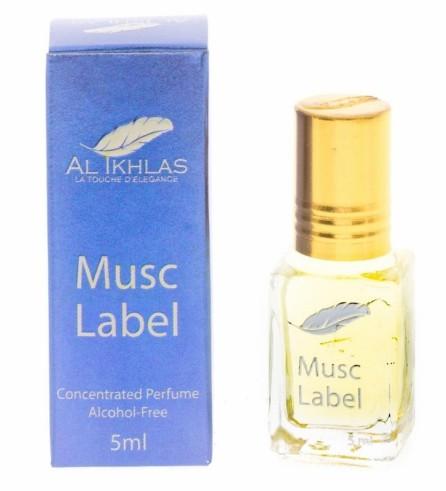 """Al Ikhlas """"Musc Label"""" 5ml"""