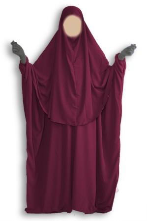 'Abaya + Hijab Umm Hafsa BLACK