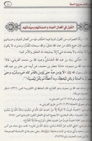 Charh Sarîh As-Sunnah - Sheikh Zayd al Madkhali