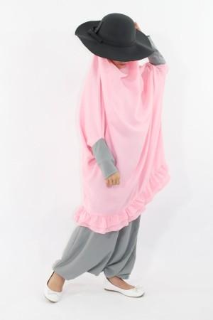 Jilbab sarouel Zahra 2/4 ans