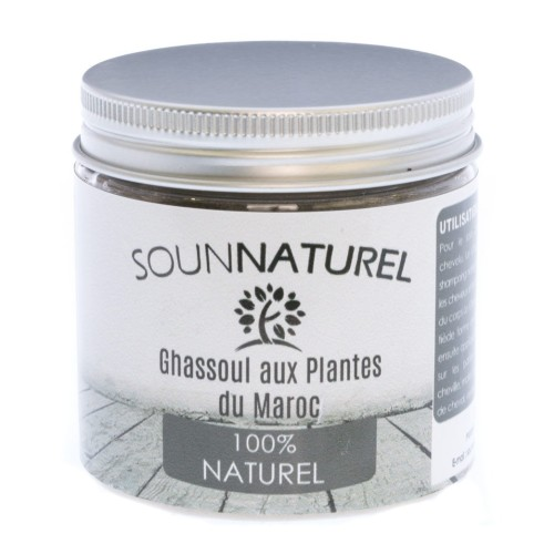 Ghassoul aux plantes 200g Sounnaturel