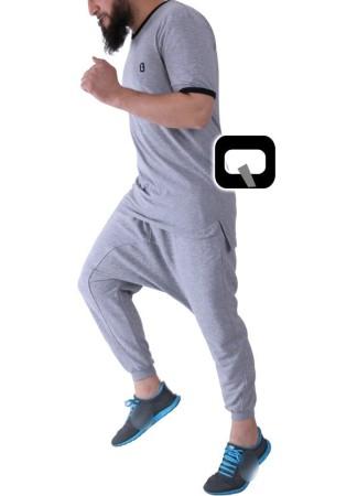Sarouel Jogging Uni Bleu Nuit