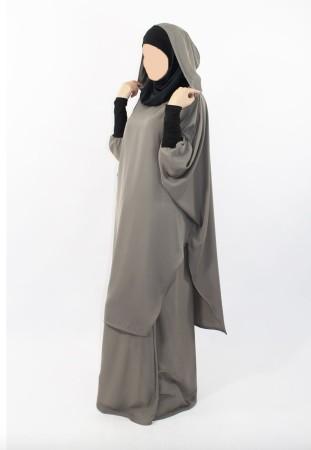 Tunique Young : Hijab et capuche intégré
