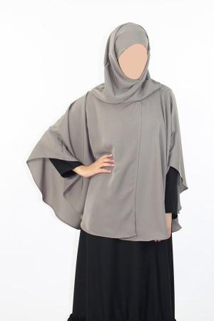 Cape avec hijab intégré