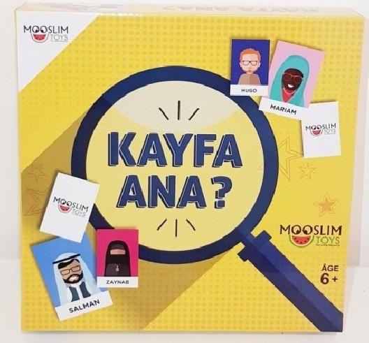 Kayfa ana ? Qui est-ce en arabe