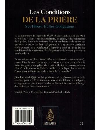 Les Conditions de la Prière, Ses Piliers, Et Ses Obligations - Sheikh Abd Al Muhsin Al Abbad