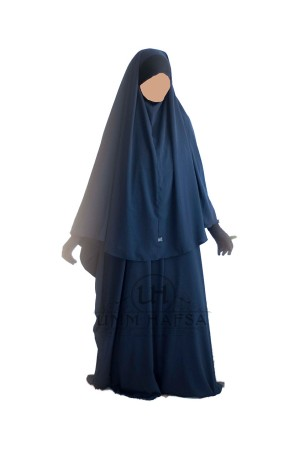 Ensemble Maryam (Abaya + Hijab-cape LYCRA)