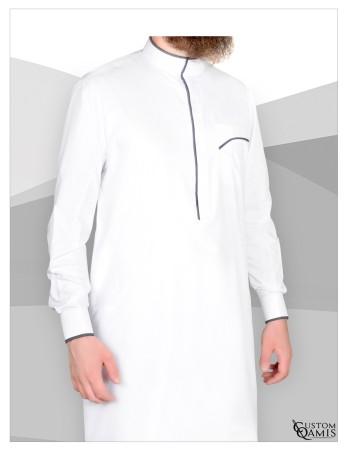 Qamis Custom Qamis Blanc