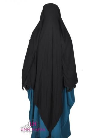Niqab Casquette 1m60 NOIR