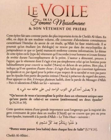 Le voile de la femme musulmane et son vêtement de prière - Sheikh al Islam Ibn Taymiyya
