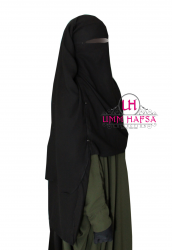 Niqab/Sitar cape à clips 1m50 - Umm Hafsa