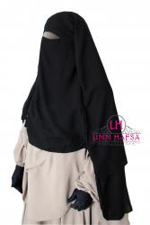 Niqab/sitar cape à clips 1m60 - Umm Hafsa