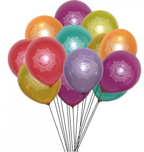 Ballons *10 Eid Mubarak