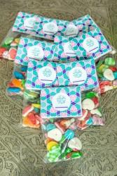 Sachet de bonbons 'Aïd Mubarak x10