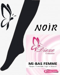 Mi-bas Noir Dieze Collection