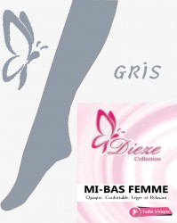 Mi-bas GRIS Dieze Collection
