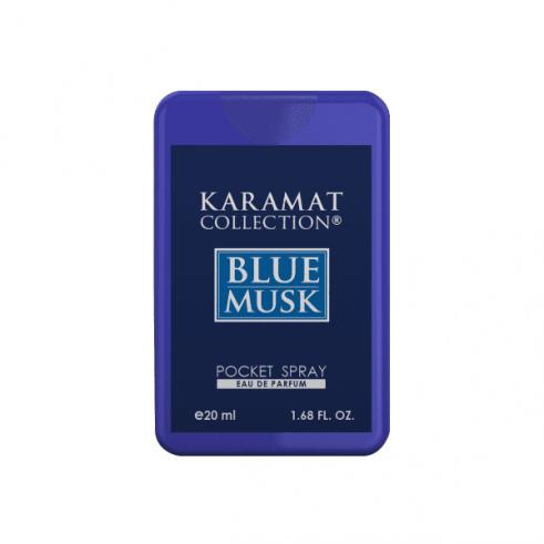 Blue Musk Parfum de poche 20ml - Karamat Collection