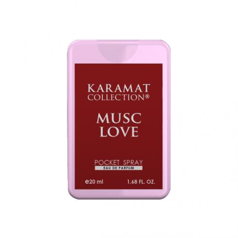 Musc Love Parfum de poche 20ml - Karamat Collection
