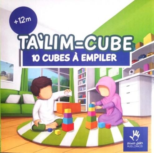 Ta'lim Cube - 10 cubes à empiler