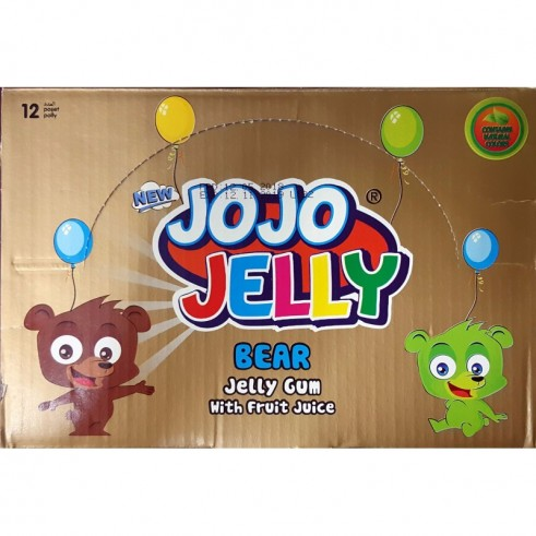 Ours au jus de fruits –  Jojo Jelly Bear