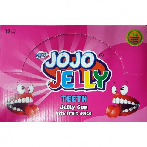 Dentiers au jus de fruits – Jojo Jelly Teeth