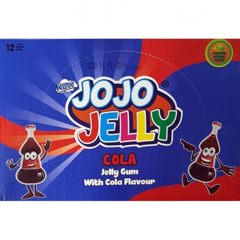 Bouteilles Cola – Jojo Jelly