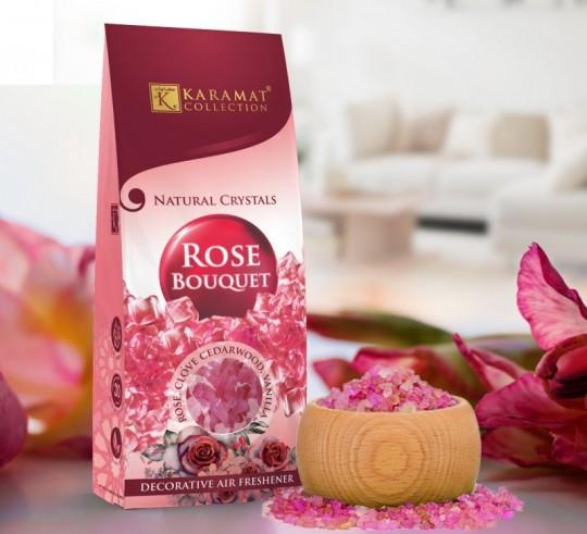 Sel Parfumé Décoratif Rose Bouquet Karamat