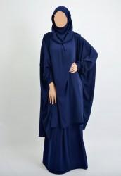 Ensemble Tunique/Hijab-intégré + Jupe
