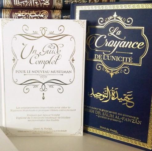 """Pack """"Pour bien commencer"""" Guide complet pour le nouveau musulman + Croyance de l'unicité"""