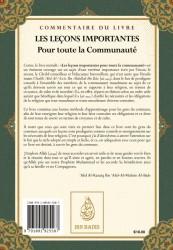 Commentaire des Leçons Importantes Pour Toute La Communauté de Cheikh Ibn Baz -  Cheikh Abd Ar-Razzaq Al-BADR