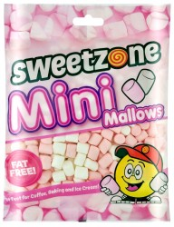Chamallows Mini Mallows Pink & White - Sweetzone 140g