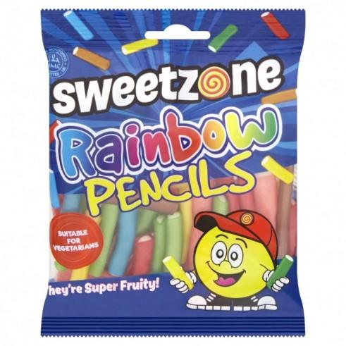 Rainbow Pencils 90g Sweetzone