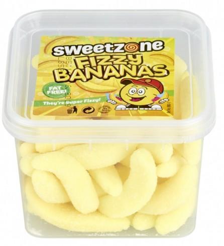 Boite de Fizzy Bananas 180g Sweetzone